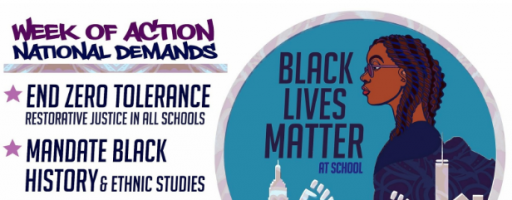 #BlackLivesMatterAtSchool Week Launches Today!