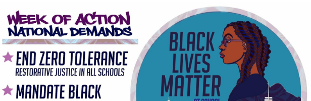 #BlackLivesMatterAtSchool Week Launches Today